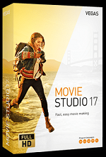 MAGIX VEGAS Movie Studio 17 Win License 5-99 Users, per User Education/Charity/NfP