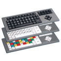 BigKeys LX QWERTY Layout Colour Keys Lower Case