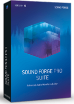 MAGIX SOUND FORGE Pro 12 Suite Education/Charity/NfP Win Download