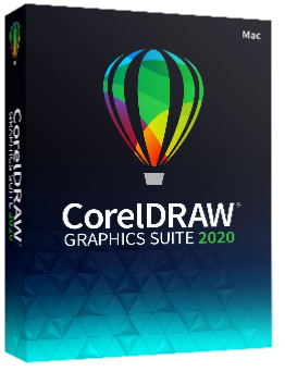 CorelDRAW Graphics Suite 2020 for Mac Education/Charity/Not for Profit License