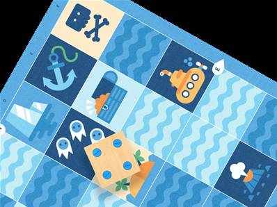 Primo Cubetto Big Ocean Map