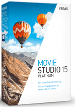MAGIX VEGAS Movie Studio 15 Platinum Win License 5-99 Users, per User Education/Charity/NfP