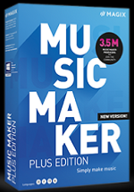 MAGIX Music Maker Plus 2021 License 5-99 Users, per User Education/Charity/NfP