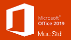 Office Mac Standard 2019 Charity/Not for Profit