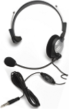 Andrea NC-181M Monaural Mobile Headset (3.5mm single plug, vol control)