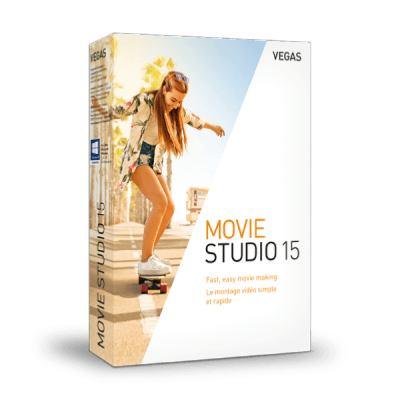 MAGIX VEGAS Movie Studio 15 Win License 5-99 Users, per User Education/Charity/NfP