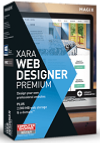 MAGIX Xara Web Designer Premium 17 Win License 10-49 Users, per User Education/Charity/NfP