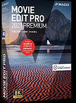 MAGIX Movie Edit Pro Premium 2021 Win License 5-99 Users, per User Education/Charity/NfP