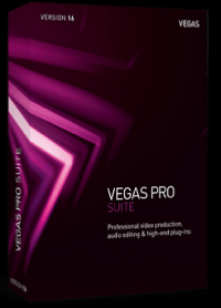 MAGIX VEGAS Pro 16 Suite Upgrade Volume Licensing Education/Charity/NfP