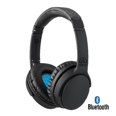 Andrea ANR-950 Wireless Bluetooth Headphone with Active Noise Reduction