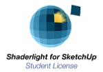 Shaderlight for SketchUp - Educational Student licence (12 months) - Mac
