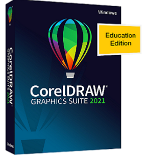 CorelDRAW Graphics Suite 2021 for Win Education/Charity/Not for Profit License