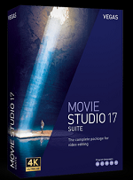 MAGIX VEGAS Movie Studio 17 Suite Win License 5-99 Users, per User Education/Charity/NfP