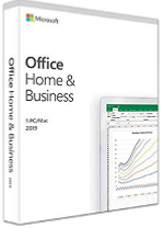 Microsoft Office Home and Business 2019 - Licence - 1 PC/Mac - Download