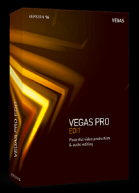 MAGIX VEGAS Pro 16 EDIT Upgrade Volume Licensing Education/Charity/NfP