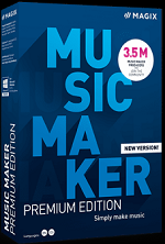 MAGIX Music Maker Premium 2021 Win License 5-99 Users, per User Education/Charity/NfP