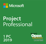 Project Pro 2019 Academic with 1Project Server CAL (not available for individual staff & students)
