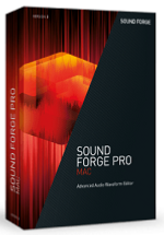 MAGIX Sound Forge Pro Mac 3 Academic Volume Licensing Education/Charity/NfP