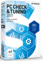 MAGIX PC Check & Tuning 2017 Win License 5-99 Users, per User Education/Charity/NfP