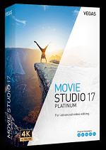 MAGIX VEGAS Movie Studio 17 Platinum Win License 5-99 Users, per User Education/Charity/NfP